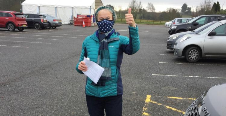 Photo of volunteer Jackie Prestwich