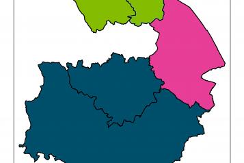warwickshire map