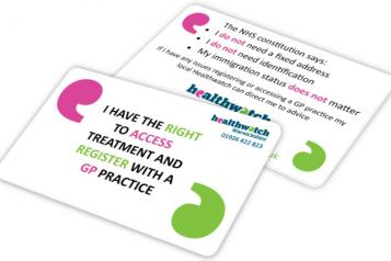Rights to access card