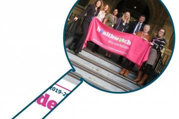 Picture of Healthwatch Warwickshire staff