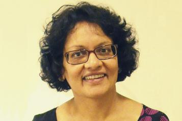 Portrait of Gita Patel