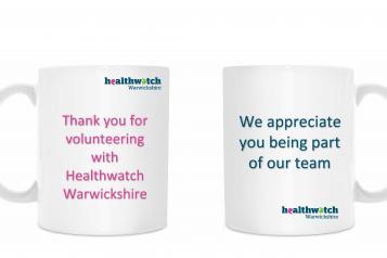 thank you mug for volunteers